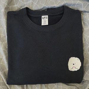Uniqlo x And Have Fun! Embroidered Dog Sweatshirt